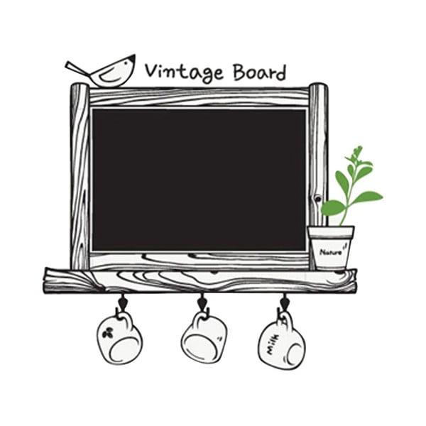 Dekorativní samolepka Vintage Board, 62x66 cm