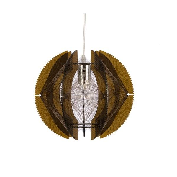 Závěsné světlo Medium Wire, hnědé
