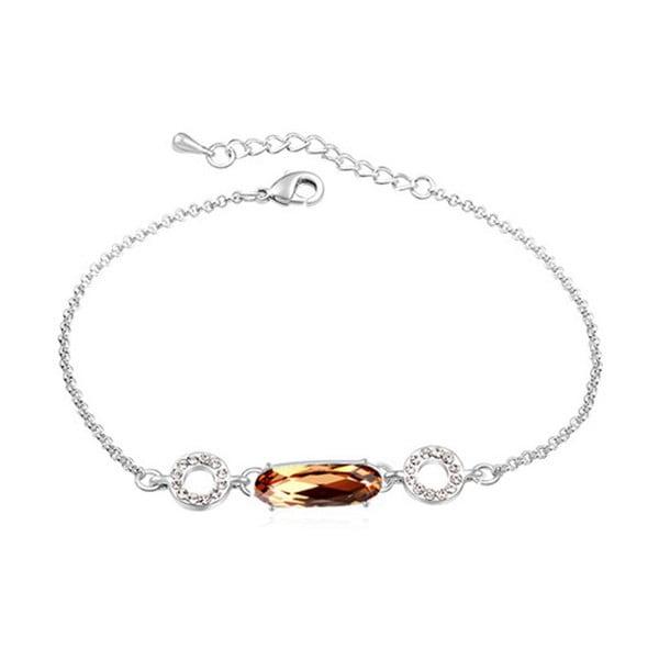 Brățară cu cristale Swarovski Elements Crystals Honoré