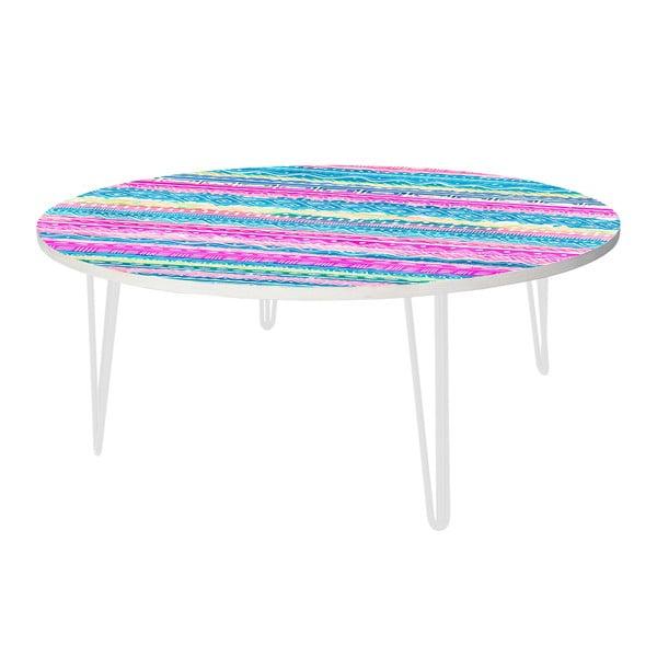 Kávový stolek Aztec Stripes