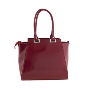 Kožená kabelka Strict Italia, červená