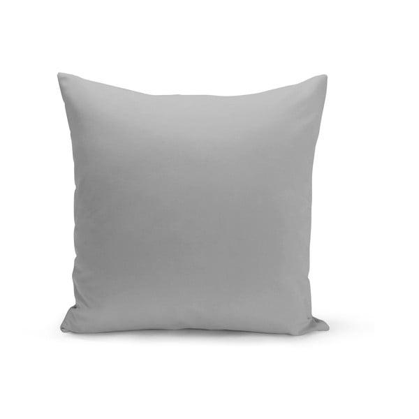 Světl šedý polštář s výplní Lisa, 43 x 43 cm