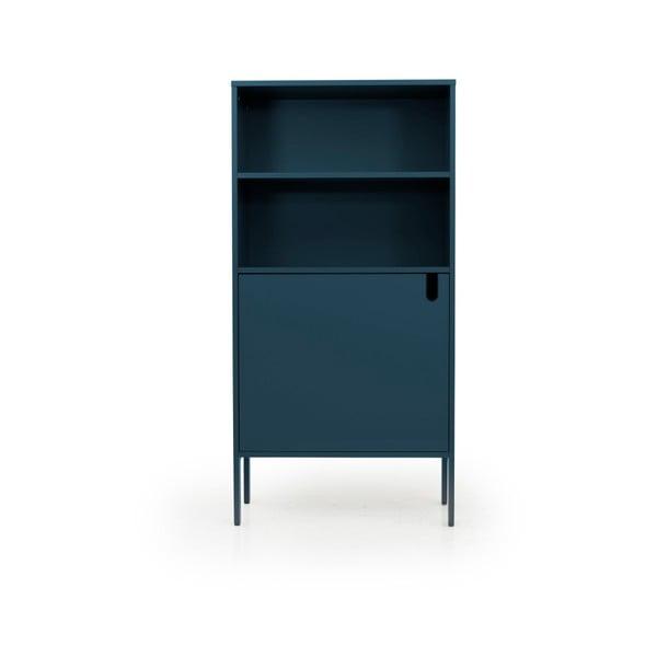 Petrolejově modrá skříň Tenzo Uno, šířka 76cm