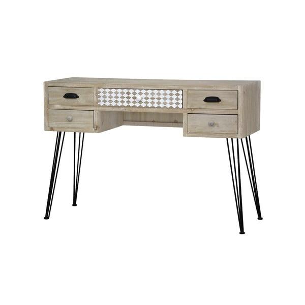 Jasnobrązowe biurko Livin Hill Loano
