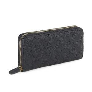 Šedá peněženka z koženky Laura Ashley Beagle