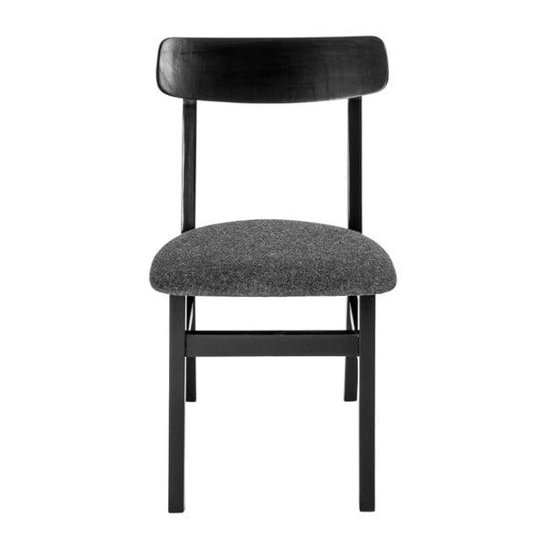 Sada 2 židlí Oslo Black
