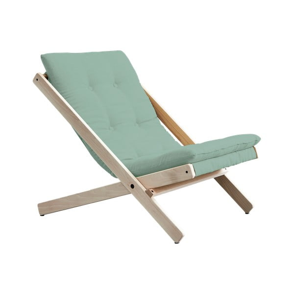 Scaun pliabil Karup Design Boogie Natural/Mint