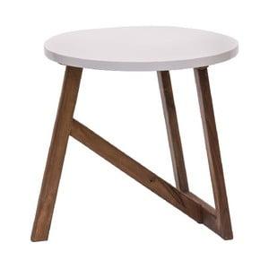 Odkládací stolek Bianco, 50x50 cm