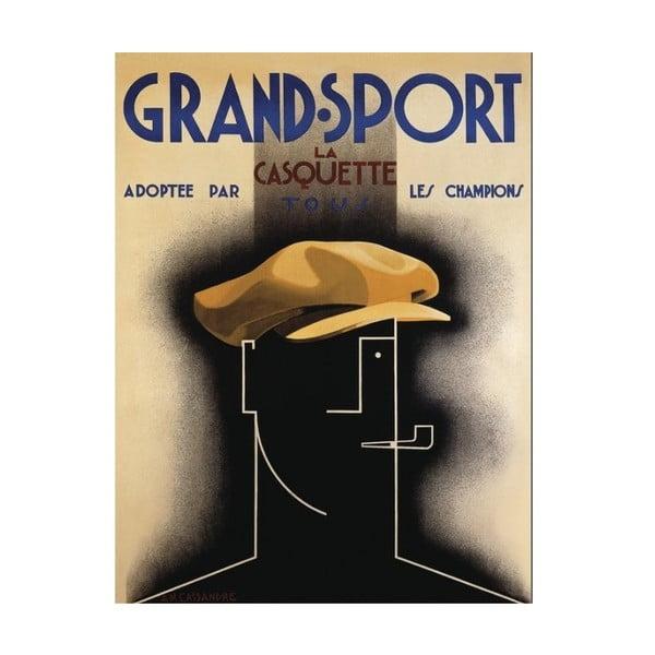 Obraz na plátně Grand Sport, 80x60 cm