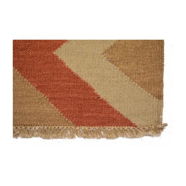 Vlněný koberec Kilim 14, 140x200 cm