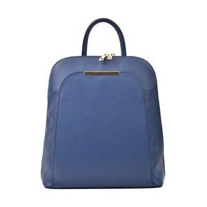 Modrý kožený batoh Renata Corsi Sallio