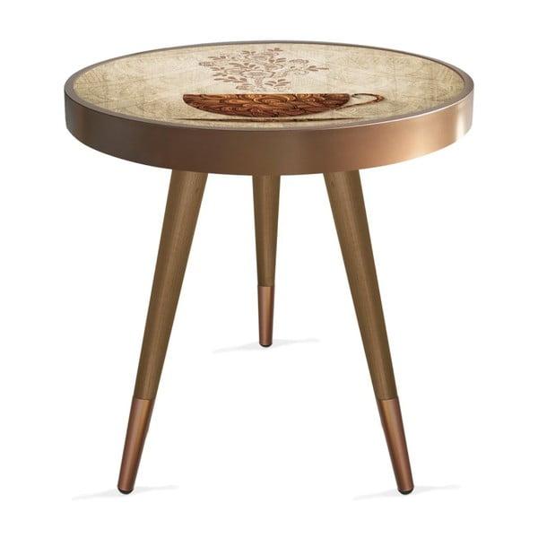 Príručný stolík Rassino Coffee Cup Circle, ⌀ 45 cm