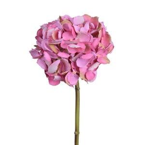 Floare artificială Ego Dekor, hortensie roz închis