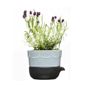 Levandulový květináč Sagaform se zavlažovací miskou