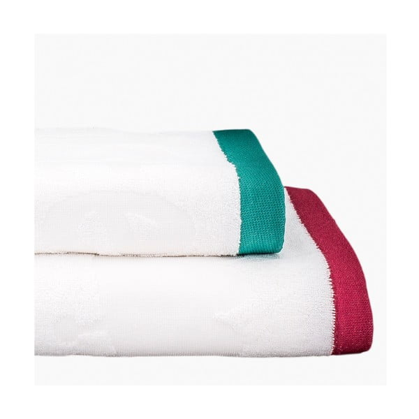 Sada 2 ručníků Sweet Monsters, 50x100 cm a 70x140 cm