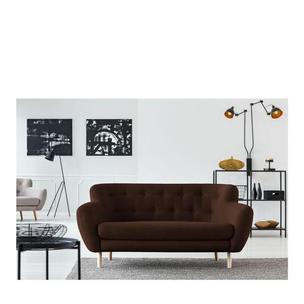 Canapea cu 2 locuri Cosmopolitan design London, maro