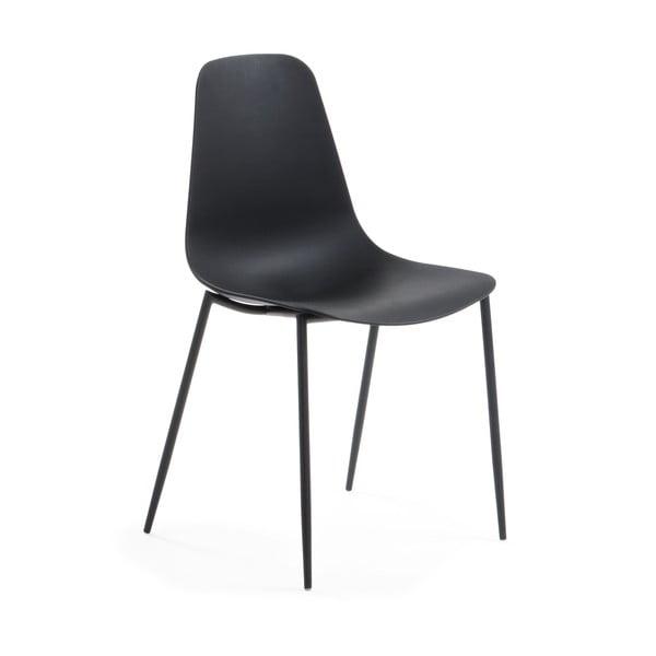 Čierna jedálenská stolička La Forma Wassu