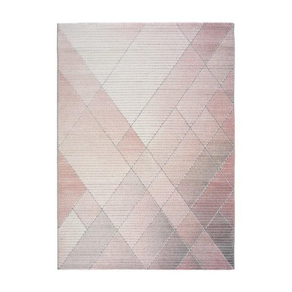Růžový koberec Universal Dash, 140 x 200 cm