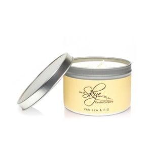 Svíčka s vůní vanilky a fíků Skye Candles Container, délkahoření30hodin