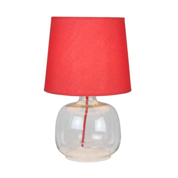 Stolní lampa Mandy, červená