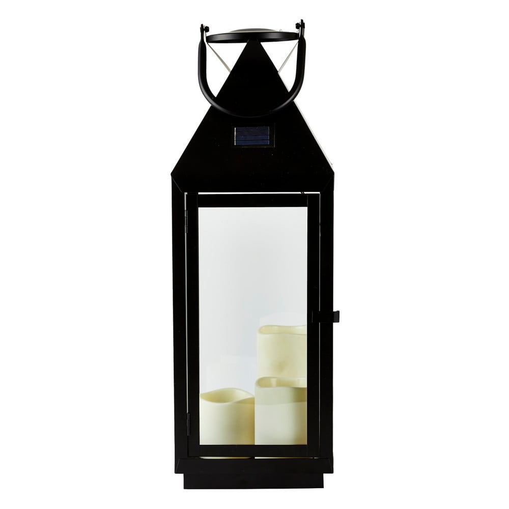 Lucerna s LED svíčkou a solárním panelem Villa Collection