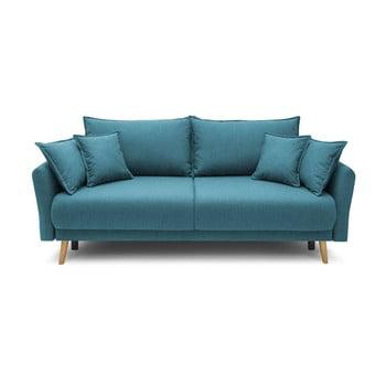Canapea extensibilă Bobochic Paris Mia, albastru turcoaz imagine