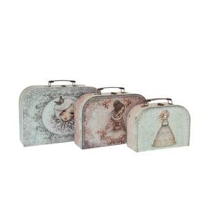 Sada 3 cestovních kufříků Santoro London