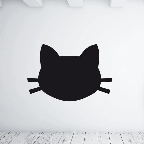 """Samolepka na stěnu """"Cat Face"""