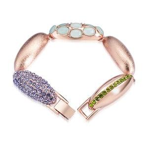 Náramek se Swarovski Elements St. Francis Crystals