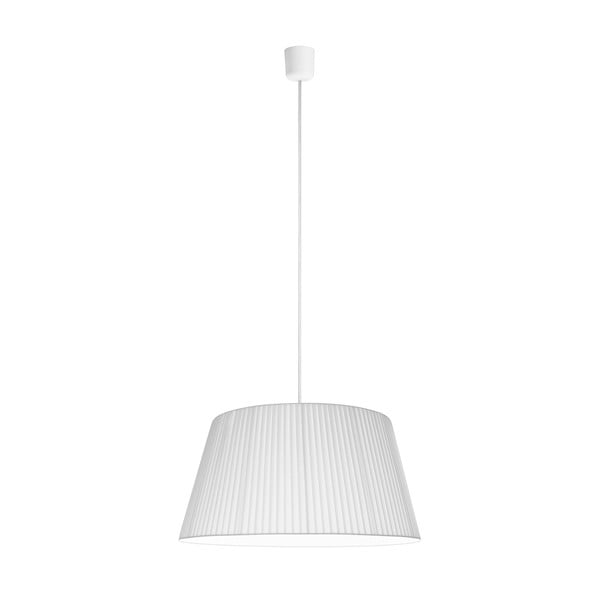 Bílé závěsné svítidlo Sotto Luce KAMI,Ø54cm