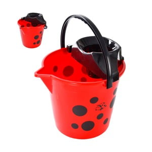 Červený kbelík Orion Fly,10l
