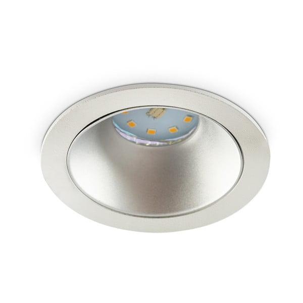 Kryt na LED žárovku Kobi Siena Silver, ⌀8,7cm