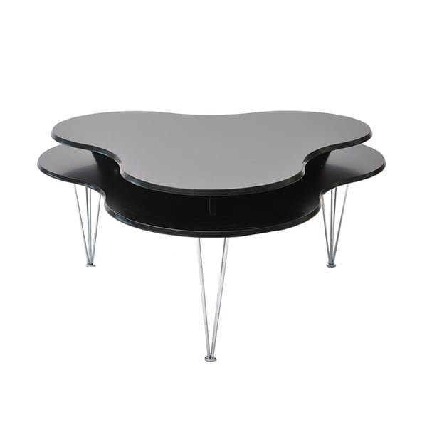 Černý konferenční stolek RGE Cloud
