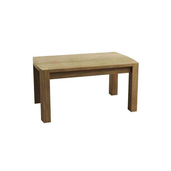 Větší kávový stolek z dubového dřeva Fornestas Goliath