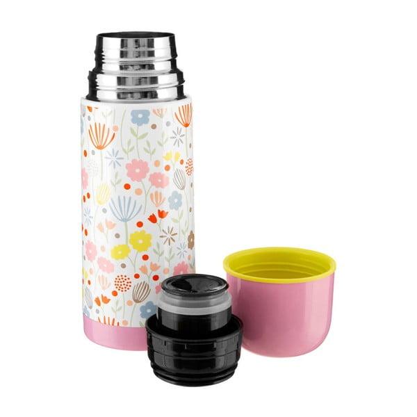 Květinová termoska s růžovým víčkem Premier Housewares Casey,350ml