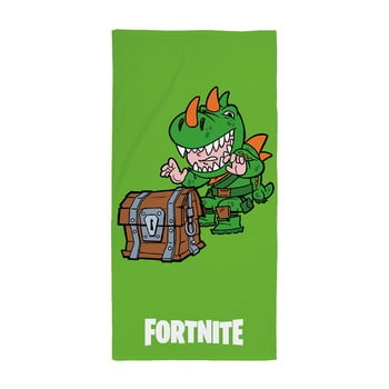 Prosop din bumbac pentru copii Halantex Fortnite Treasure, 70 x 140 cm
