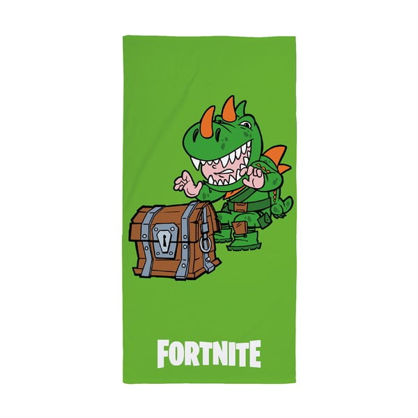 Dětský bavlněný ručník Halantex Fortnite Treasure, 70 x 140 cm