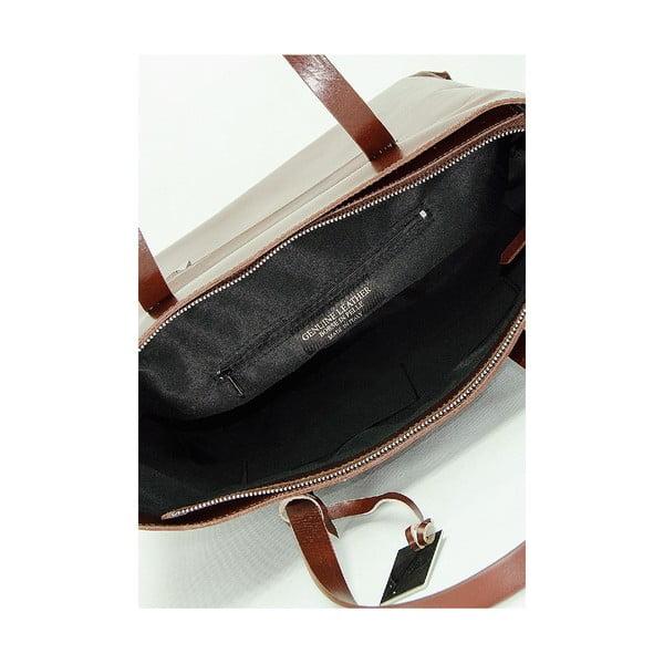 Kožená kabelka Giorgio Costa 15005 Brown
