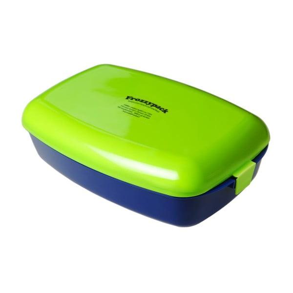 Chladící svačinový box Frozzypack no.2, blue/green