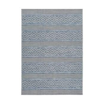 Covor pentru exterior Universal Cork Lines, 115 x 170 cm, albastru imagine