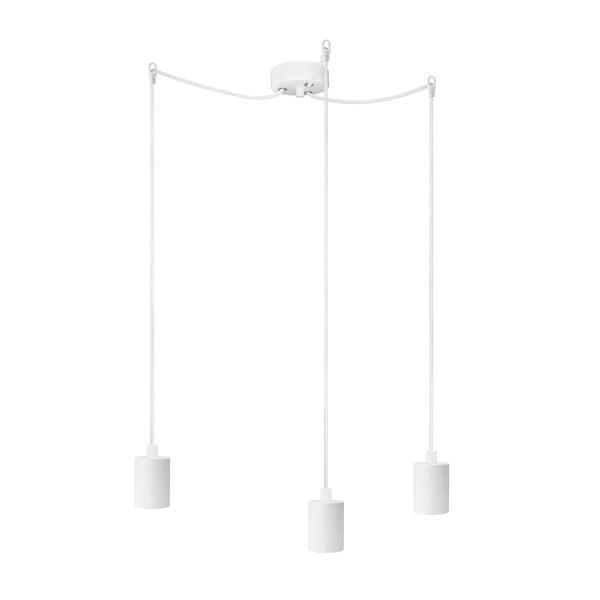 Lustrăcu 3 cabluri Bulb Attack Cero Basic, alb