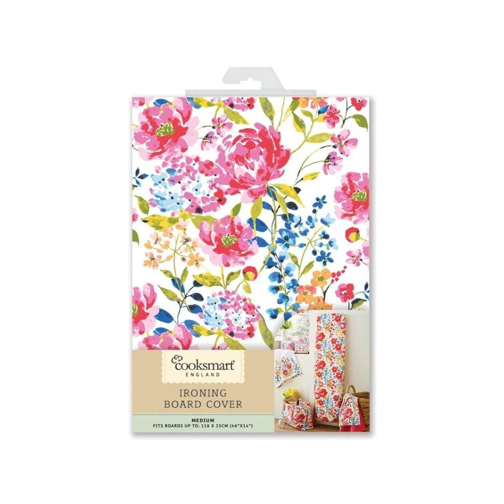 Potah na žehlící prkno Cooksmart England Floral Romance, M