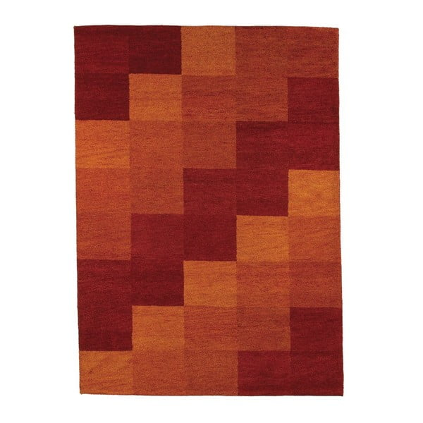Koberec Baku Box Red, 70x140 cm