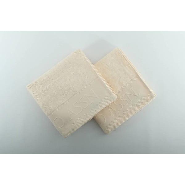 Sada 2 ručníků U.S. Polo Assn. Vanilla, 50x90 cm