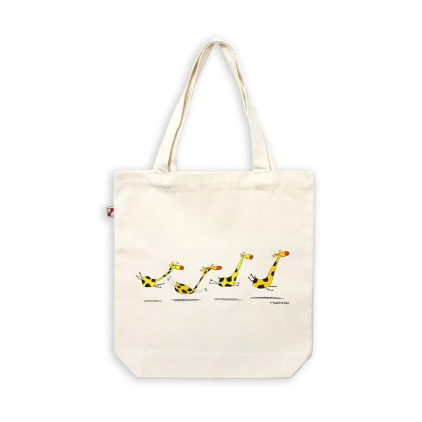 Plátěná taška Žirafí