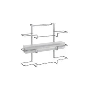 Suport cu 3 nivele pentru prosoapele de bucătărie Metaltex, lungime 36 cm imagine