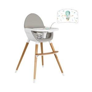 Dětská polohovací jídelní židle Tanuki NUUK Explorer Rabbit