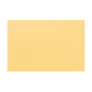 Suport pentru farfurie Tiseco Home Studio Chevron, 45 x 30 cm, galben de la Tiseco Home Studio