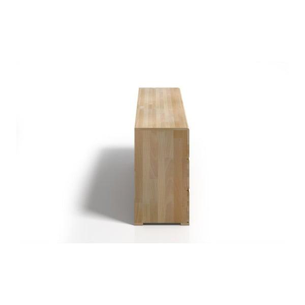 Comodă din lemn de fag cu 3 sertare SKANDICA Vestre