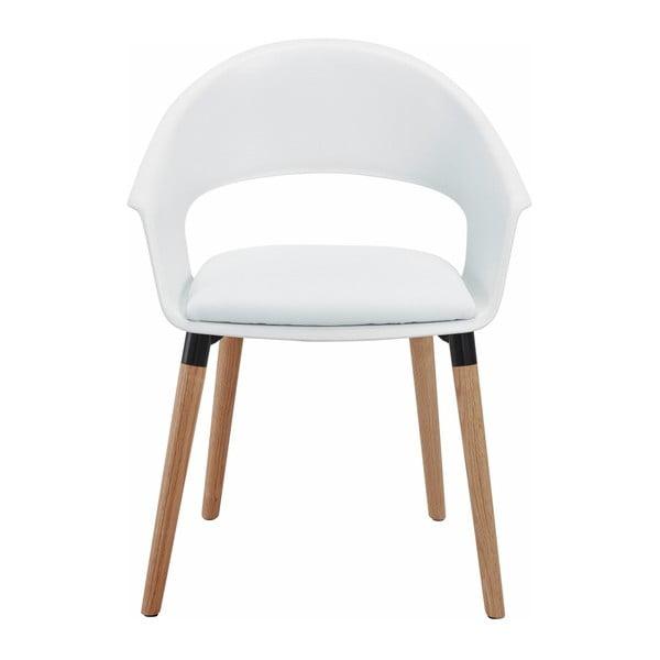 Sada 2 bielych stoličiek Støraa Alto